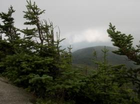 A view from Cannon Mountain in New Hampshire's White Mountains -- a favorite destination for hikers.