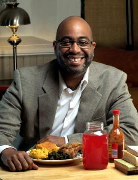 Author Adrian Miller dined at 150 soul food restaurants in the course of researching his book published last year by the University of North Carolina Press.