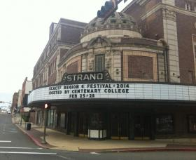 Hundreds of college students and faculty from six states are converging at the Strand Theatre in Shreveport for the Kennedy Center American College Theater Festival.