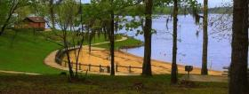 Kincaid Lake Recreation Area is located in Boyce, La.