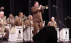 Mike Williams with the Count Basie Orchestra