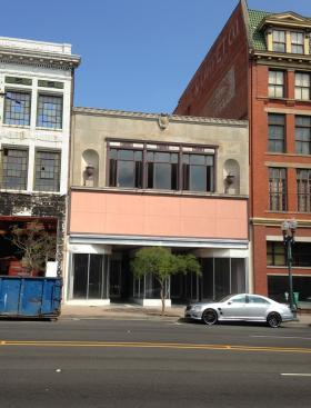 The two-story Zodiag building under renovation in downtown Shreveport will be part of the city's next Pop UP Project.