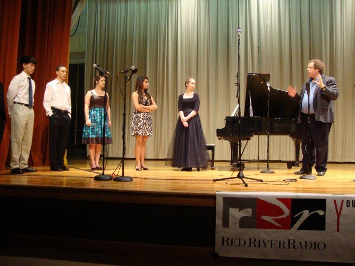 The first annual RRR Young Artists Competition Winners Concert at LSUS