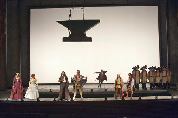"The finale of Act 1 of Rossini's ""Il Barbiere di Siviglia."""