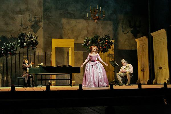 "A scene from Act 2 of Rossini's ""Il Barbiere di Siviglia"" at the Metropolitan Opera."