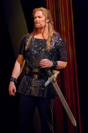 "Jay Hunter Morris as Siegfried in Wagner's ""Götterdämmerung."""