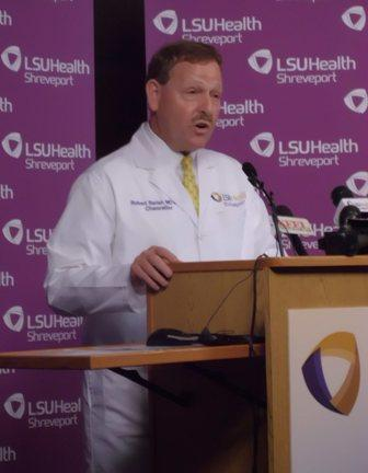LSU Health Shreveport Chancellor Dr. Robert Barish discusses the Affordable Care Act as it relates to the mission of the teaching hospital in Shreveport.