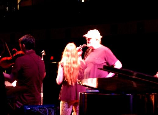 Garrison with Andra Suchy & BeauSoleil Rehearsing 2