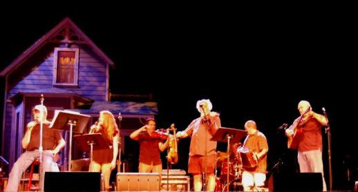 Garrison with Andra Suchy & BeauSoleil Rehearsing