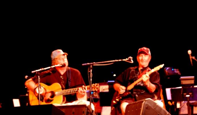 Pat Donohue with James Burton Rehearsing