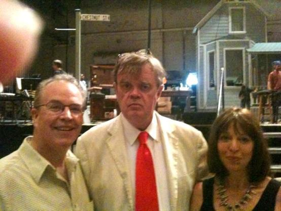 Steve & Janice Aiken with Garrison after the show