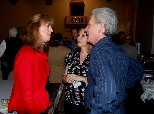 Sue Scott with RRR's Ranae and Jeff Bryant