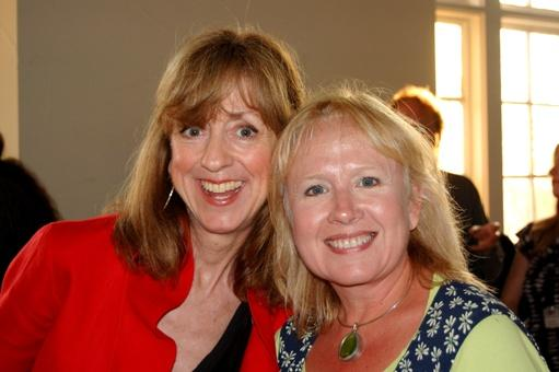 Sue Scott with Penny Millhollon