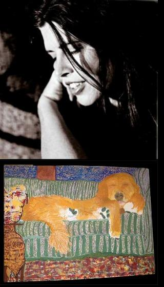 Victoria Williams & Her Painting of Ruby