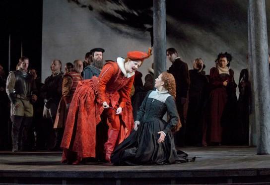 Scene from Maria Stuarda