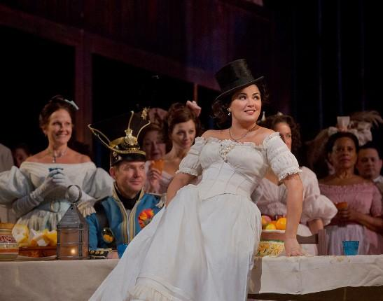 Anna Netrebko as Adina