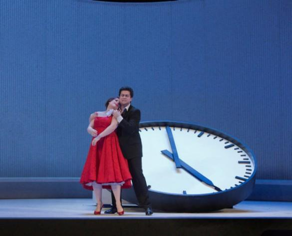 Diana Damrau as Violetta and Saimir Pirgu as Alfredo