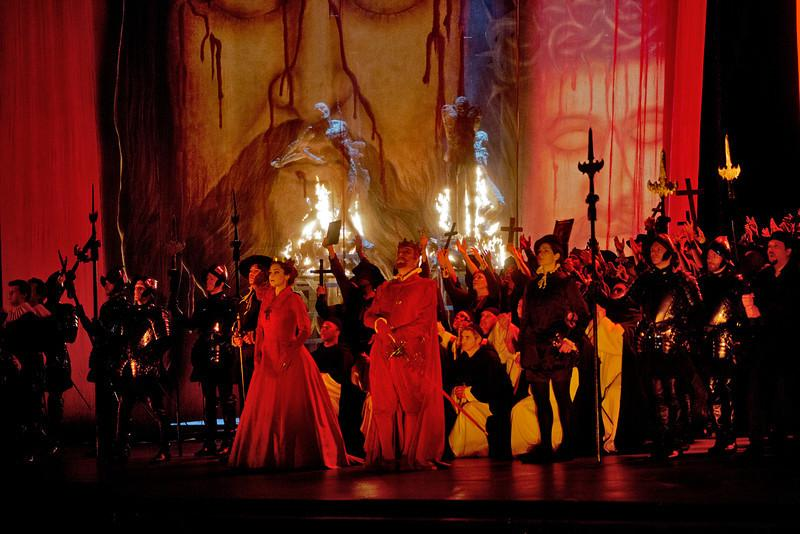 Scene from Don Carlo