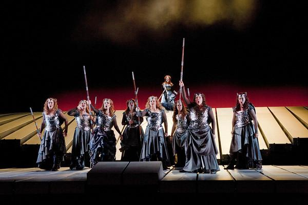 Scene from Act 3 of Die Walküre