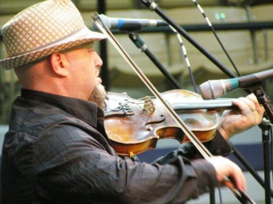 Beau Thomas, the 2012 Louisiana State Fiddle Champion