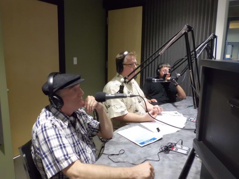 Bobby Darrow, Brett Malone, and Dr. Gerardo Negron