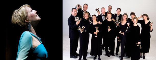 Frederica von Stade and the SONOS Handbell Ensemble