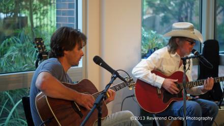Buddy Flett & Josh Hyde Live
