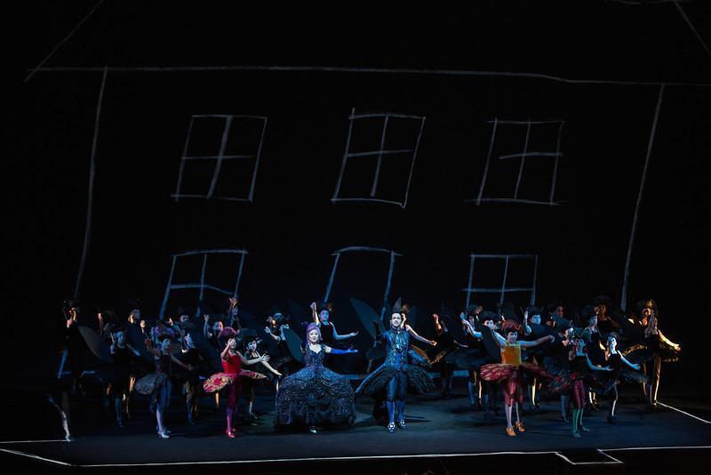 Scene from Britten's A Midsummer Night's Dream
