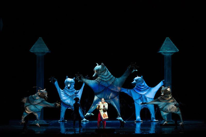 Scene from The Magic Flute