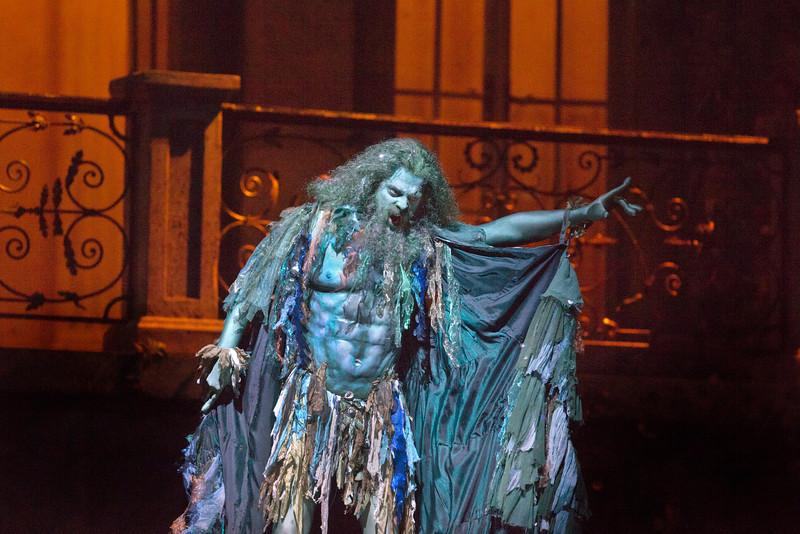 John Relyea as the Water Sprite