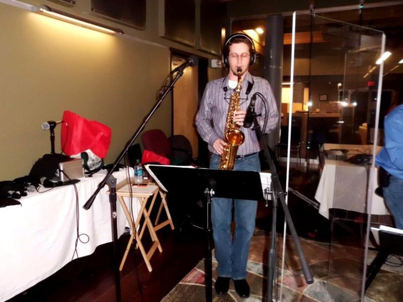 Paul Forsyth on sax