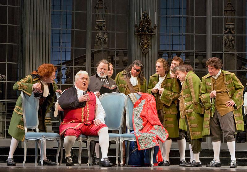 Scene from Strauss's Der Rosenkavalier
