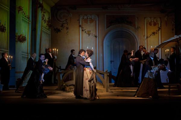 A scene from Massenet's Werther