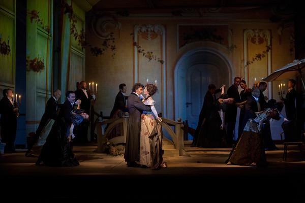 A scene from Massenet's Werther