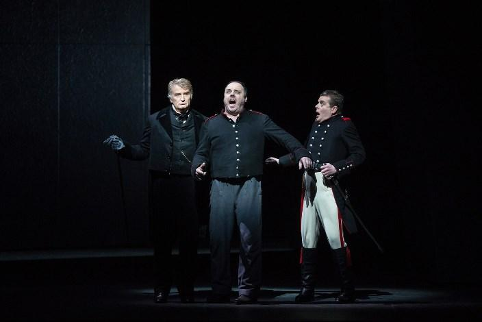 Clive Bayley as the Doctor, Matthias Goerne as the title role, and Peter Hoare as the Captain