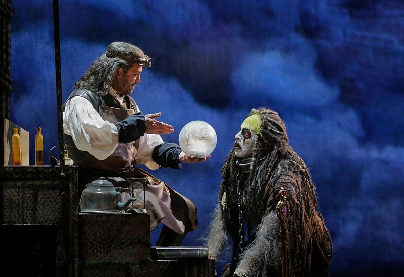 David Daniels as Prospero and Luca Pisaroni as Caliban