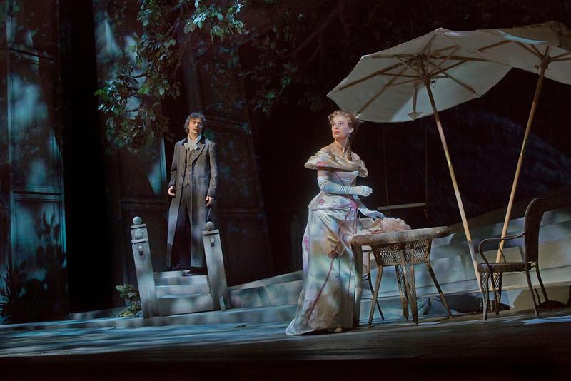 Jonas Kaufmann as Wether and Sophie Koch as Charlotte