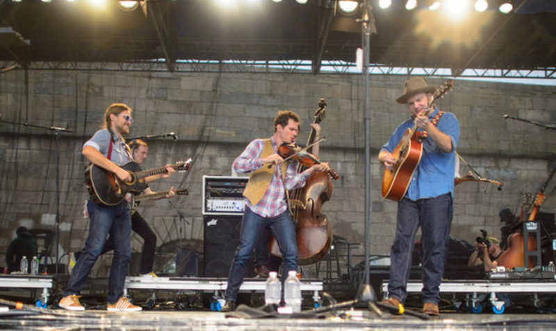 Old Crow Medicine Show at Newport Folk