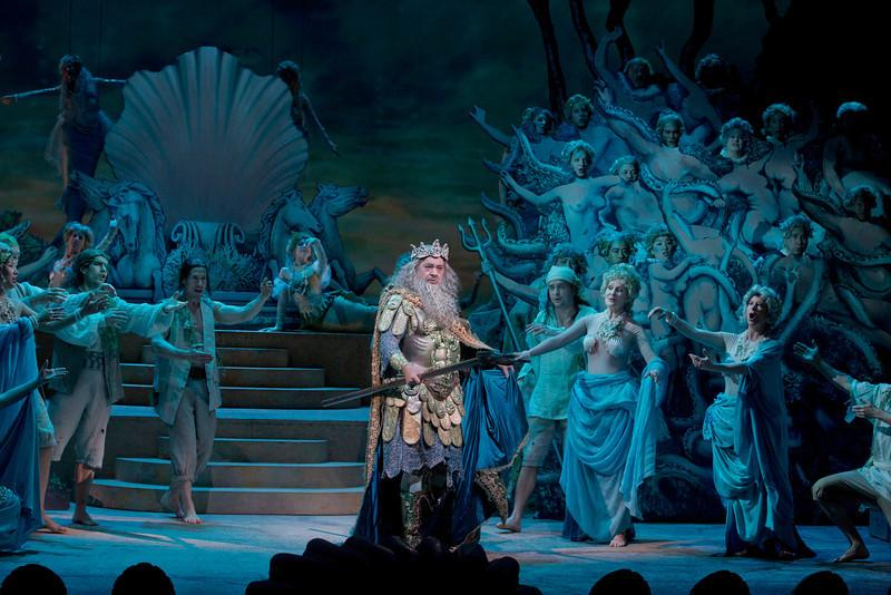 Plácido Domingo as Neptune - King of the Seas