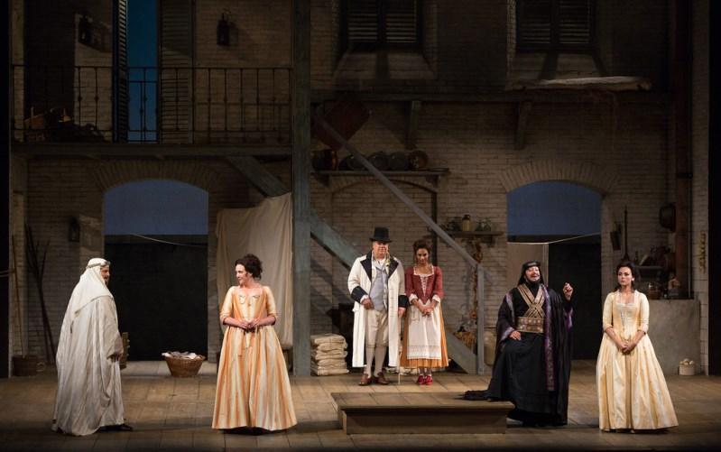 A scene from Mozart's Così fan tutte