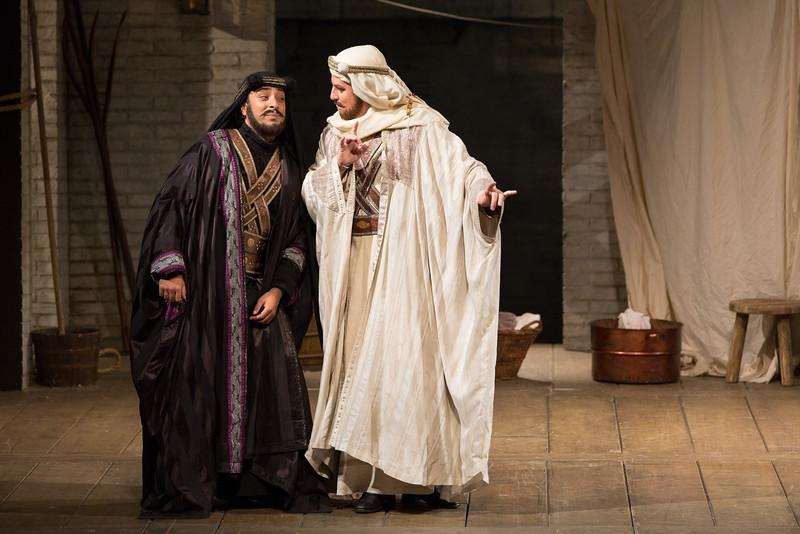 Rodion Pogossov as Guglielmo and Matthew Polenzani as Ferrando
