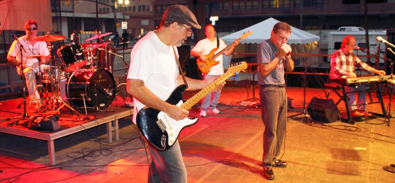 AJ & The Two Tone Blues Band
