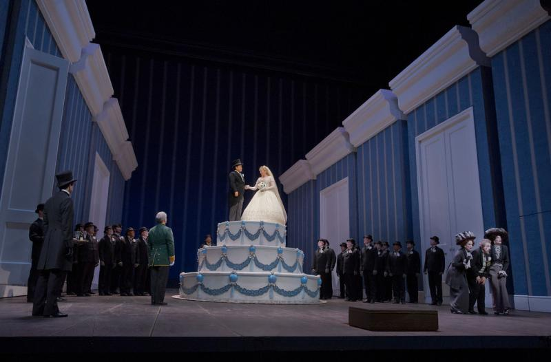 A scene from Rossini's La Cenerentola