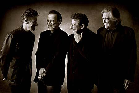 Lyle Lovett, John Hiatt, Joe Ely, and Guy Clark