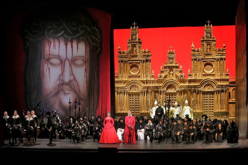 A scene from Verdi's Don Carlo