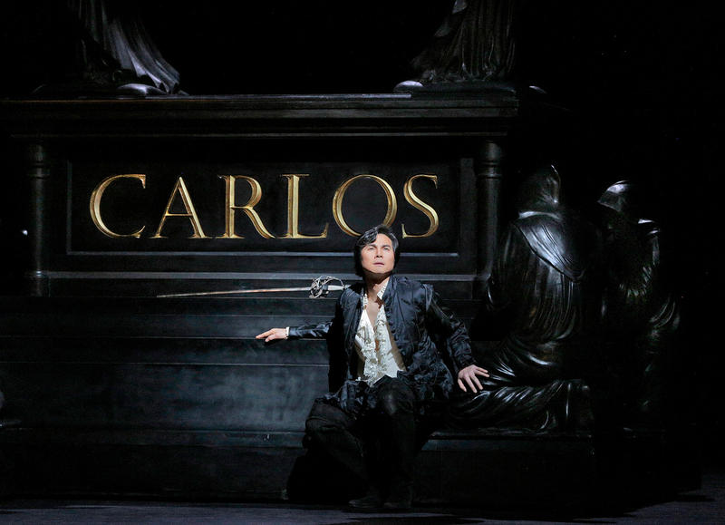 Yonghoon Lee in the title role of Verdi's Don Carlo