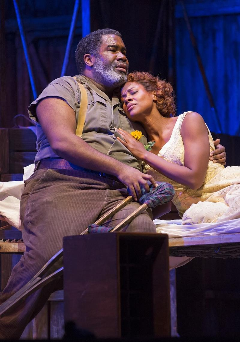 Eric Owens and Adina Aaron in Porgy and Bess
