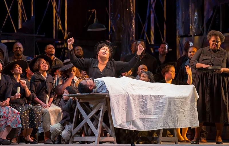 Karen Slack and Gwendolyn Brown in Porgy and Bess
