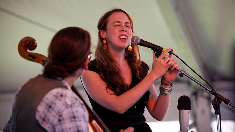 Sarah Jarosz live at Newport 2013