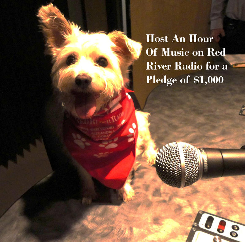 Host an hour of music on Red River Radio - $1,000 donation - For $1,000 you can be king or queen of the airwaves. Jazz/Classical/Soul/Blues - you pick the music and produce the show assisted by our staff.